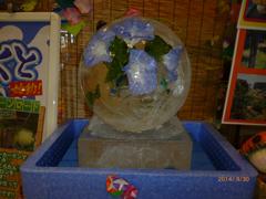 直径30cmの球体氷